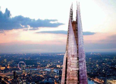 El rascacielos más alto de Europa acaricia el cielo londinense