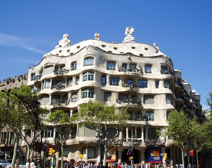 Centenario de La Pedrera, emblemático ejemplo del Movimiento Modernista