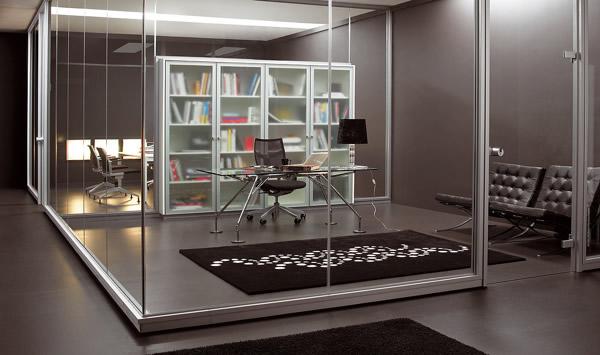 Distintas soluciones de mamparas de oficina
