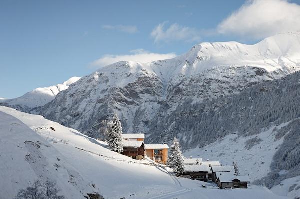 Un auténtico paraíso en el corazón de Suiza: Arquitectura ecológica firmada por un arquitecto estrella