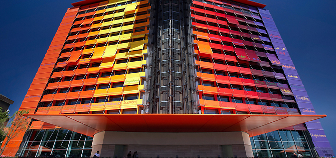 arquitectura de hoteles de lujo
